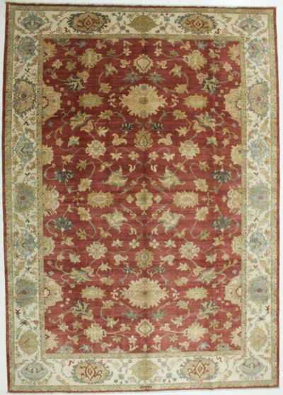 BURGUNDY Karaman Rug #542 • 9′10″ x 14′0″ • 100% Wool