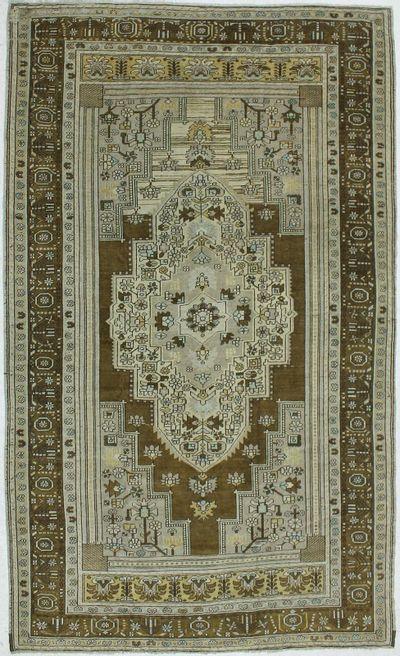 Ivory Konya Rug #923 • 7′2″ x 11′11″ • 100% Wool
