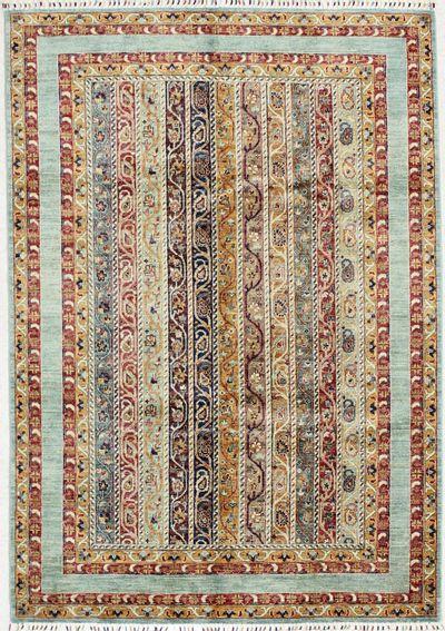 Multicolor Shall Rug #1632 • 5′7″ x 8′0″ • 100% Wool