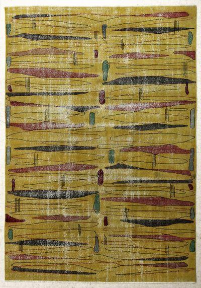 Gold ISPARTA Rug #7622 • 6′8″ x 10′2″ • 100% Wool