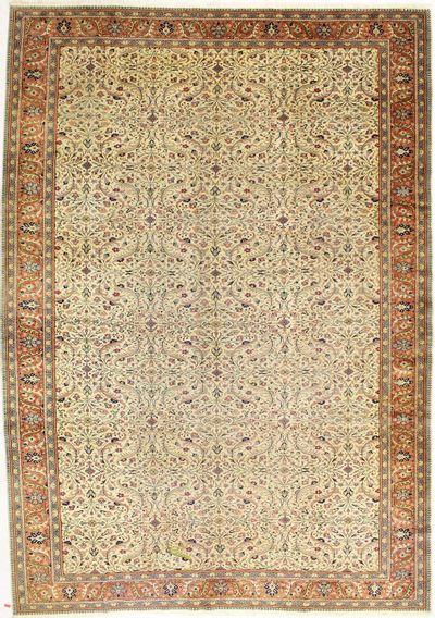 Ivory Kayseri Rug #2073 • 8′6″ x 12′0″ • 100% Wool