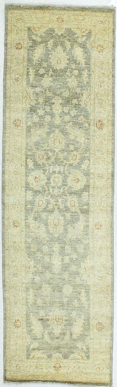 Gray Ushak Rug #294 • 2′5″ x 8′2″ • Wool on Cotton