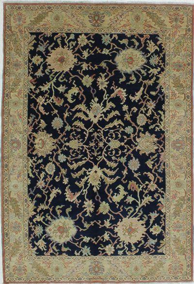 Black Karaman Rug #510 • 6′2″ x 9′2″ • 100% Wool