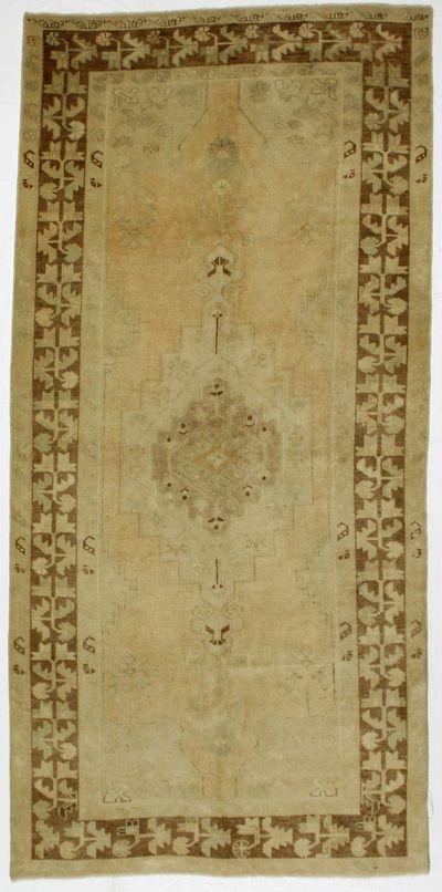 Ivory Konya Rug #7943 • 4′6″ x 9′5″ • 100% Wool