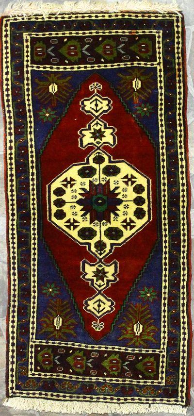 Red Konya Rug #890 • 1′10″ x 3′10″ • 100% Wool