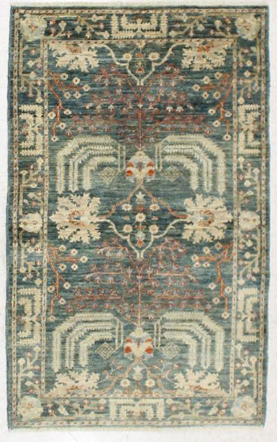 Blue Ariana Rug #6864 • 3′2″ x 5′0″ • 100% Wool