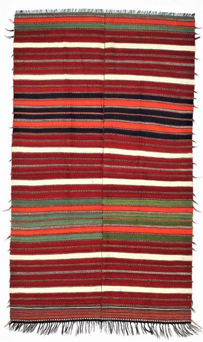Multicolor Anatolia Rug #744 • 4′5″ x 7′5″ • 100% Wool