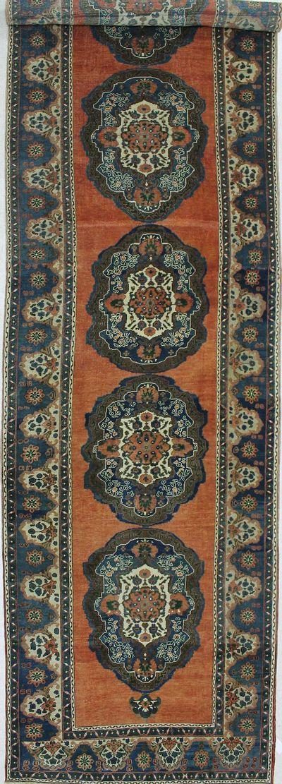 Peach Konya Rug #1028 • 5′3″ x 21′7″ • 100% Wool