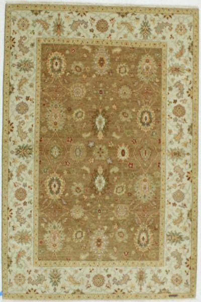 Brown Esme Rug #660 • 6′0″ x 9′0″ • 100% Wool