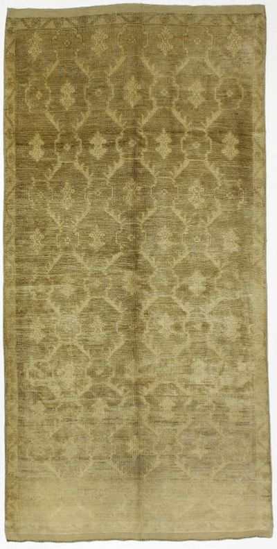 Ivory Konya Rug #1006 • 5′2″ x 10′2″ • 100% Wool