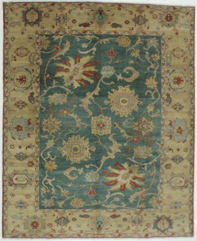 Blue Karaman Rug #603 • 8′2″ x 9′11″ • 100% Wool
