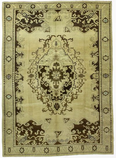 Ivory Konya Rug #80 • 6′10″ x 9′9″ • 100% Wool