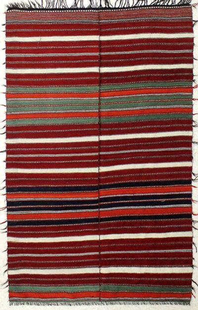 Multicolor Anatolia Rug #8035 • 4′6″ x 7′0″ • 100% Wool