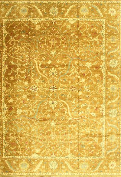 Brown Karaman Rug #563 • 12′0″ x 15′0″ • 100% Wool