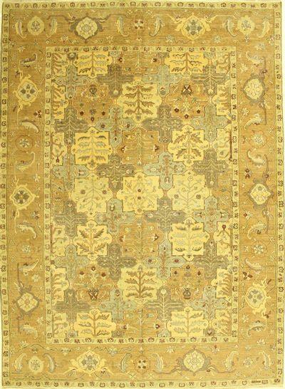Brown Esme Rug #526 • 9′11″ x 13′7″ • 100% Wool
