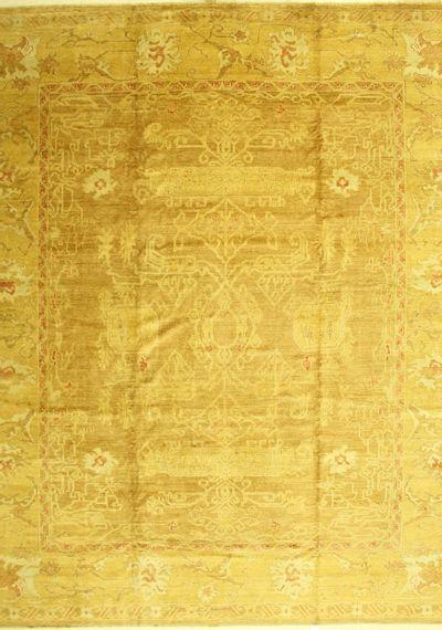 Brown Karaman Rug #555 • 12′3″ x 14′6″ • 100% Wool