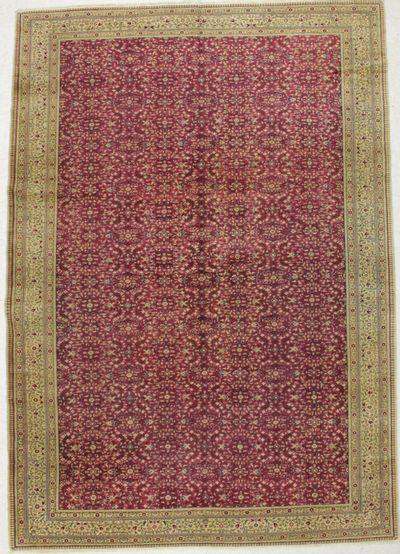Red Kayseri Rug #8674 • 8′0″ x 11′5″ • Wool on Cotton