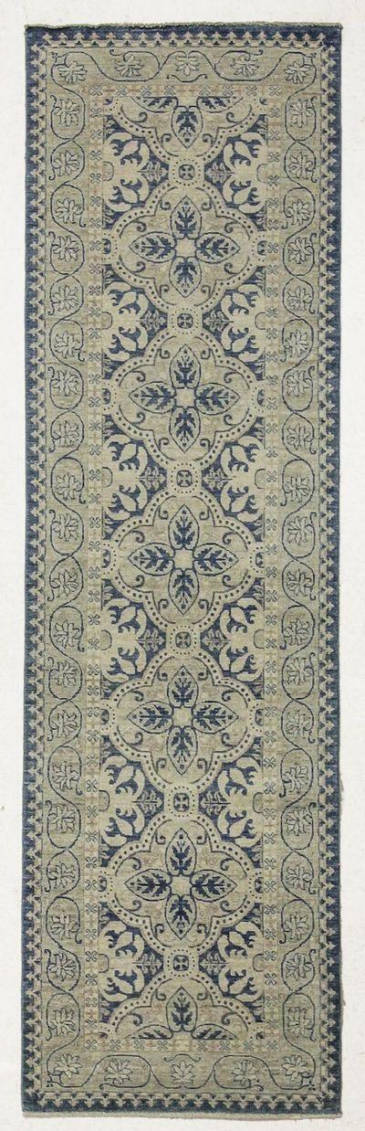 Blue Kothan Rug #7683 • 3′1″ x 10′5″ • 100% Wool