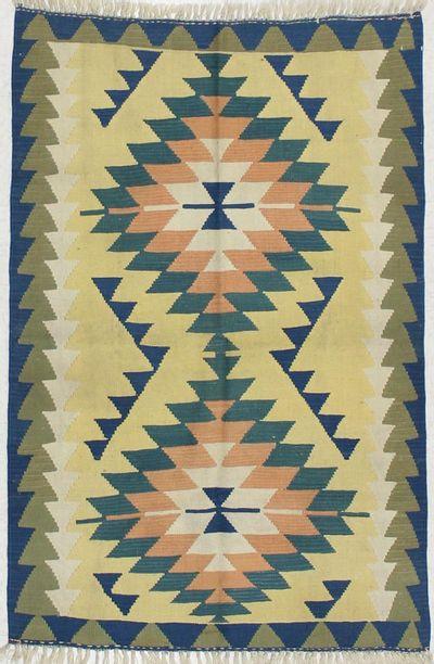 Rust Kayseri Rug #1512 • 3′10″ x 5′10″ • 100% Wool
