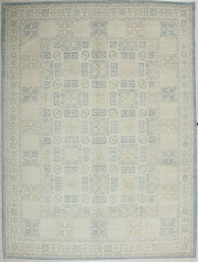 Ivory Kothan Rug #2334 • 9′0″ x 12′0″ • 100% Wool