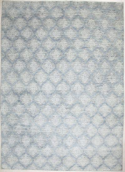 Gray Himalaya Rug #7283 • 10′0″ x 13′10″ • Wool on Cotton