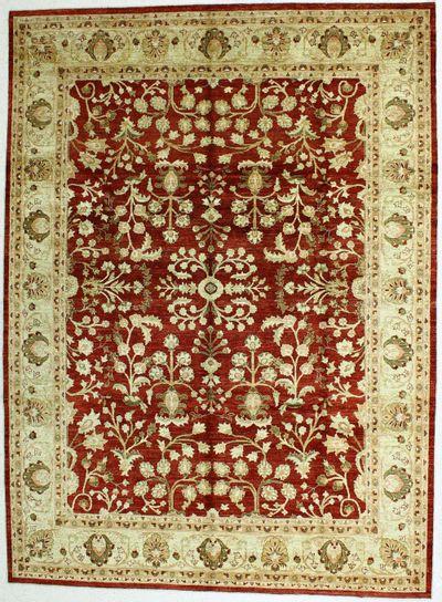 Red Ushak Rug #483 • 8′0″ x 10′10″ • Wool on Cotton
