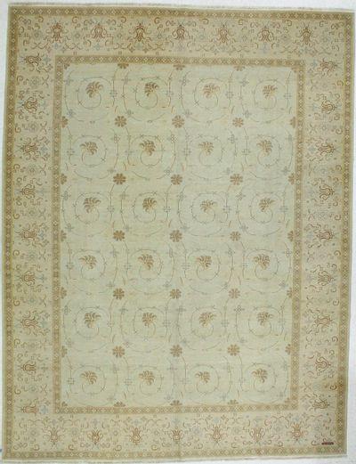 Light Blue Kothan Rug #631 • 9′1″ x 11′10″ • 100% Wool