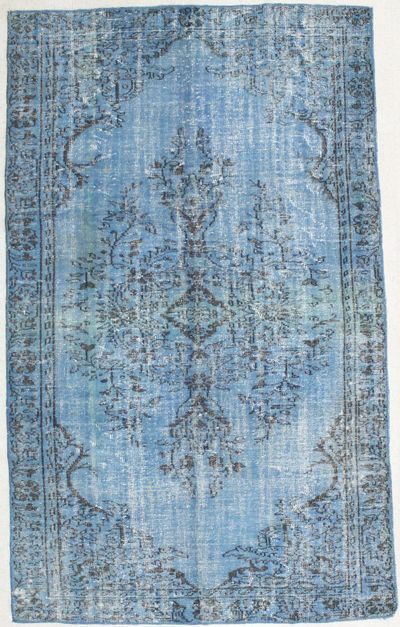 Blue Over Dyes Rug #1518 • 6′10″ x 9′7″ • 100% Wool