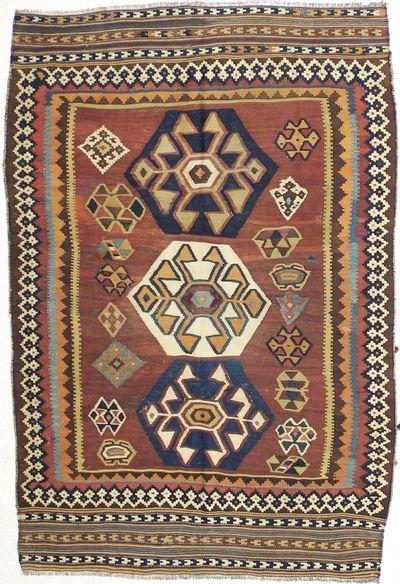Rust Anatolia Rug #1764 • 5′0″ x 7′6″ • 100% Wool