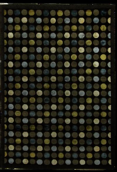 CHARCOAL Modern Rug #7764 • 4′0″ x 6′0″ • 100% Wool