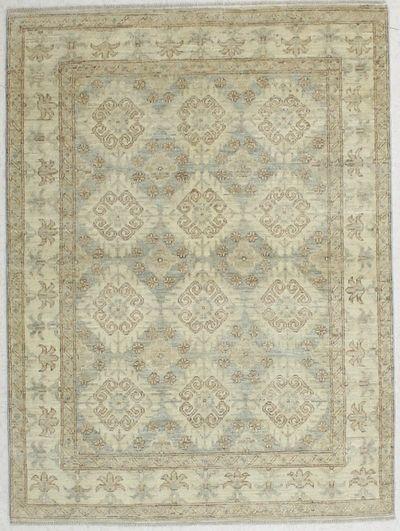 Gray Kothan Rug #6552 • 4′9″ x 6′4″ • Wool on Cotton