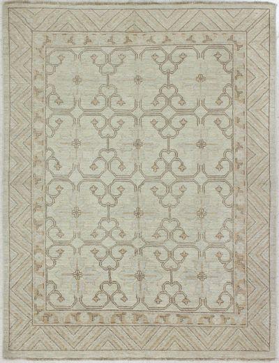 Light Blue Kothan Rug #1563 • 4′11″ x 5′10″ • 100% Wool