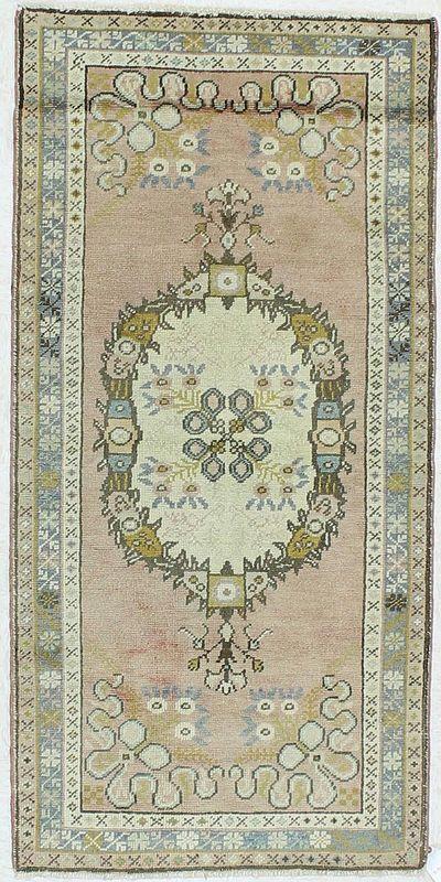 PINK Konya Rug #177 • 2′10″ x 6′0″ • 100% Wool