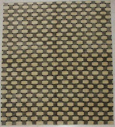 Ivory Gabeh Rug #8456 • 7′10″ x 8′10″ • 100% Wool