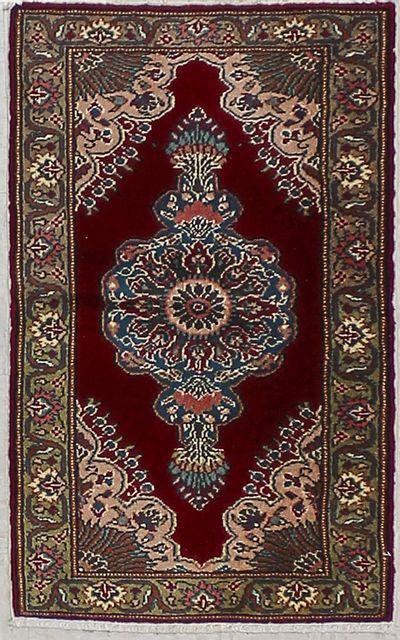 Purple Kayseri Rug #7236 • 2′0″ x 3′5″ • 100% Wool