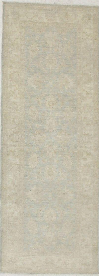 Gray Ushak Rug #7161 • 2′5″ x 6′6″ • 100% Wool