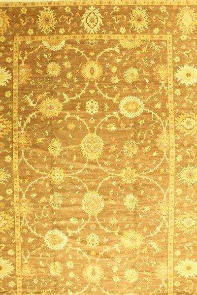 Brown Esme Rug #561 • 12′2″ x 18′2″ • 100% Wool