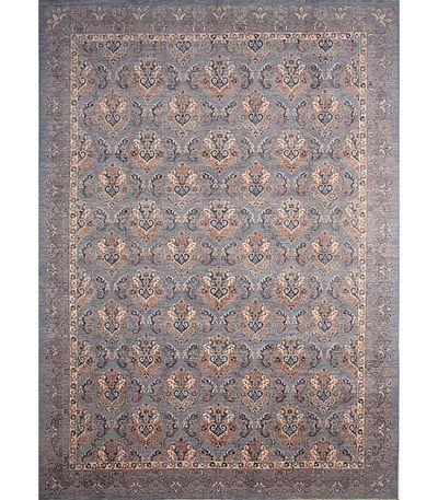 Blue Ushak Rug #6724 • 9′7″ x 13′7″ • 100% Wool