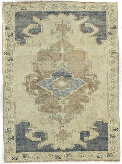 Gold Konya Rug #1889 • 4′6″ x 6′3″ • 100% Wool