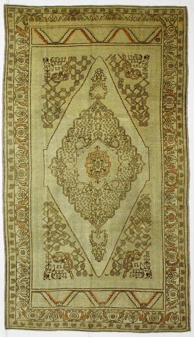 Ivory Konya Rug #2550 • 5′11″ x 10′4″ • 100% Wool
