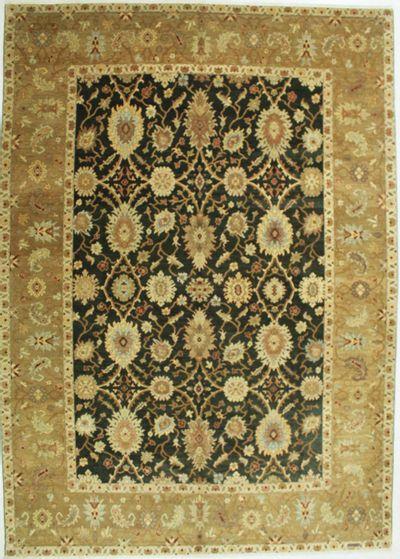 Black Sivas Rug #530 • 10′2″ x 14′3″ • 100% Wool