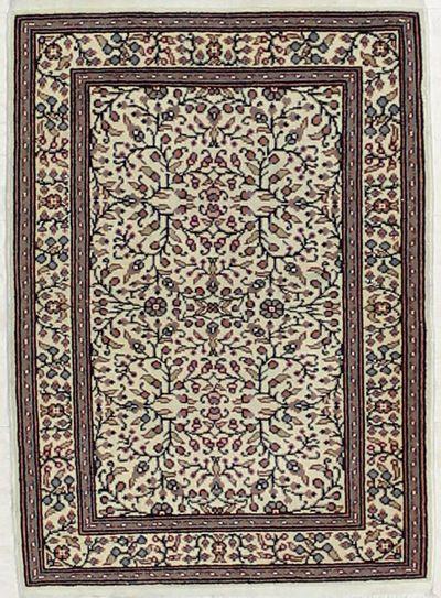 Ivory Kayseri Rug #2827 • 2′1″ x 2′9″ • 100% Wool