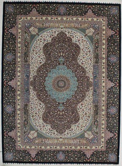 Red Royal Rug #7535 • 6′9″ x 9′3″ • Wool on Silk