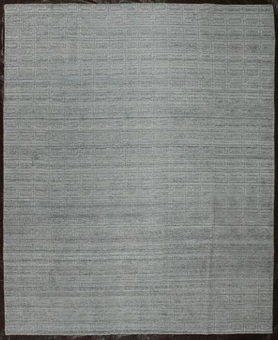 Ivory Modern Rug #8101 • 8′0″ x 10′0″ • Wool on Silk