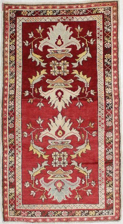 N/A Konya Rug #2120 • 2′11″ x 5′4″ • 100% Wool