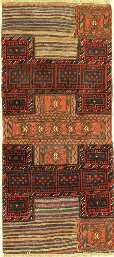 Multicolor Bahtiyari Rug #1207 • 3′3″ x 7′4″ • 100% Wool
