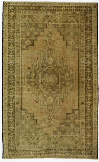 Brown Konya Rug #1045 • 4′5″ x 7′3″ • 100% Wool