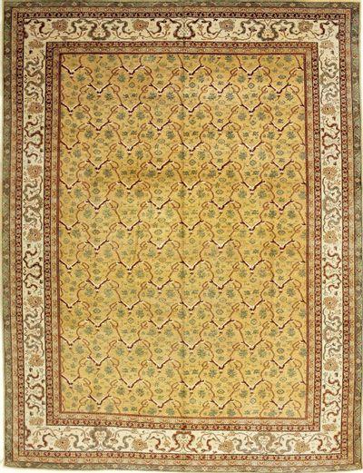Gold Sivas Rug #588 • 10′1″ x 13′2″ • 100% Wool