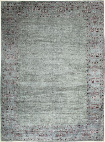 Gray Himalaya Rug #7267 • 10′0″ x 13′8″ • Wool on Cotton