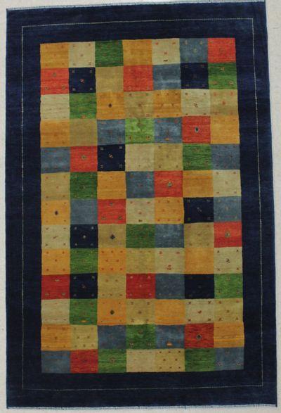 Multicolor Modern Rug #8705 • 5′4″ x 8′0″ • 100% Wool